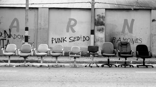 Escenario punk (Ganadora del concurso Patricia en la categoría: la feria de mi barrio)