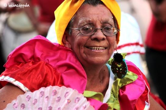 Con candombe y con mamá