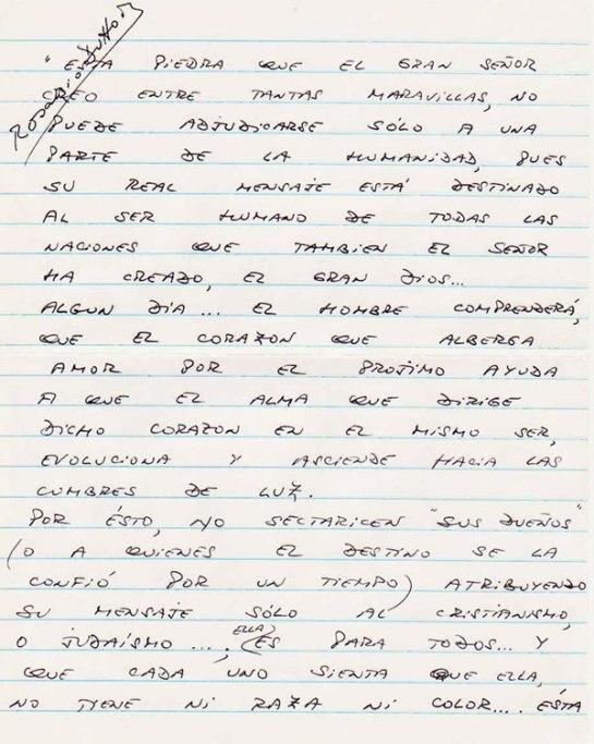 Carta Rosario Dutto Hoja 1