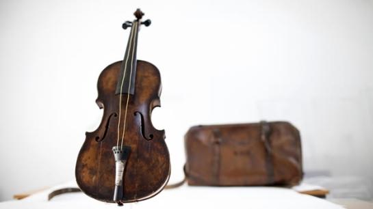 violin titanic